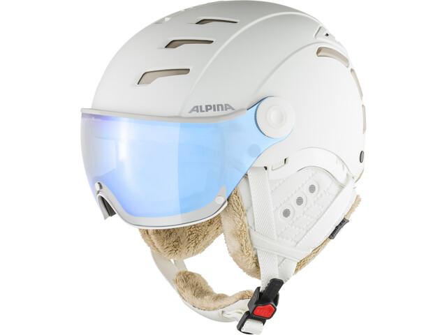 Alpina Jump 2.0 VM Casco de esquí, white-prosecco matt